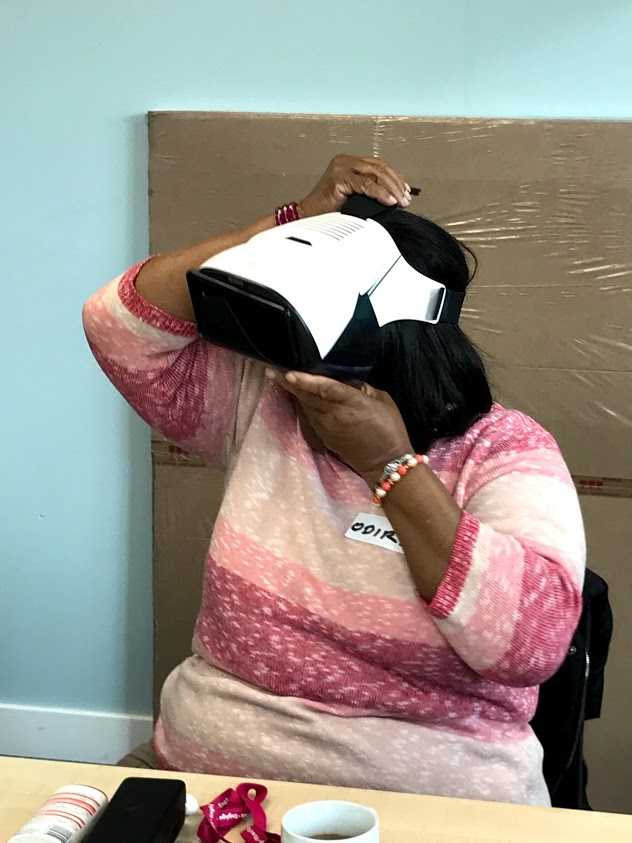 virtual coach, consisting of a hologram based surrogate balance physiotherapist,