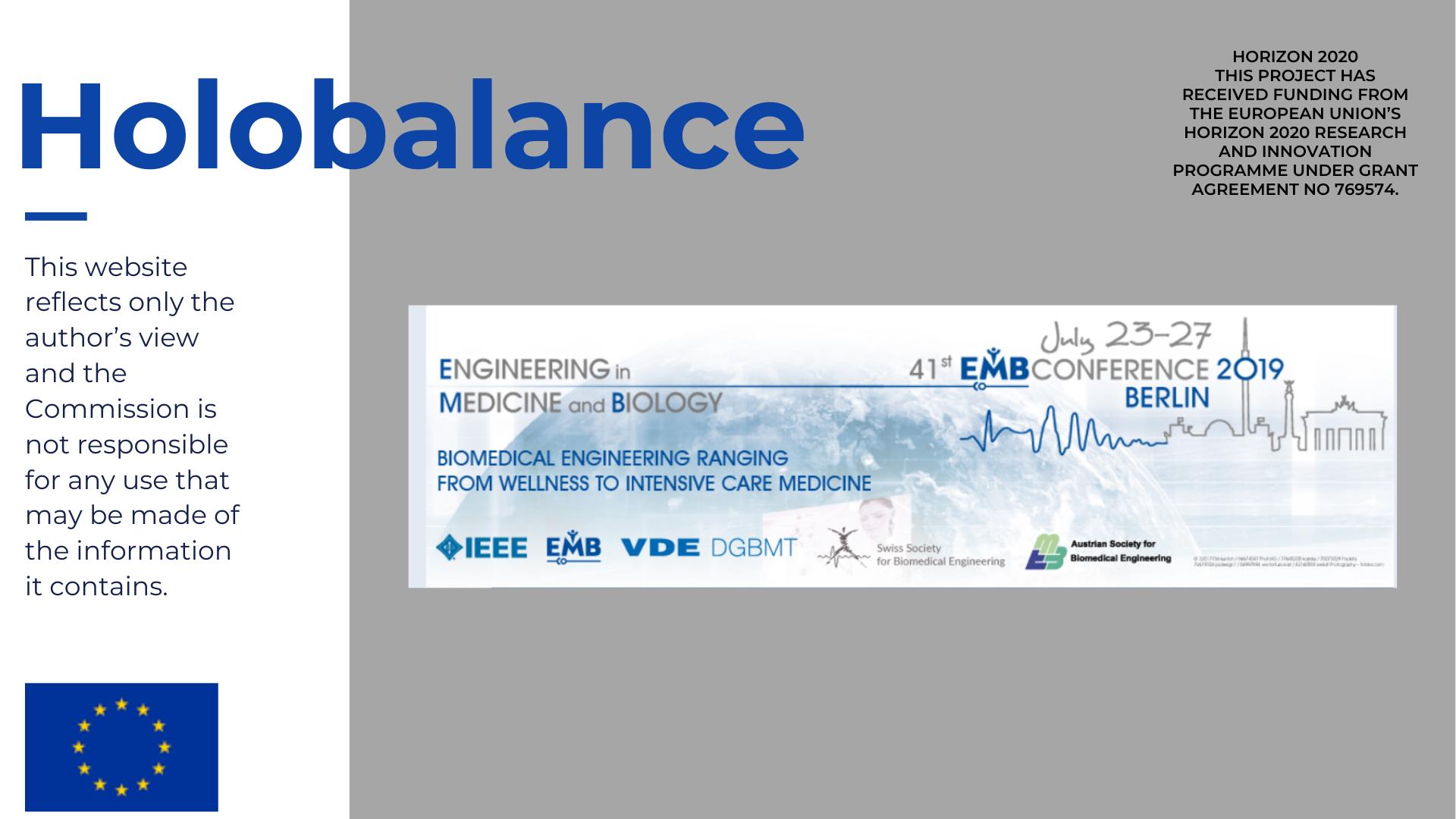 Holobalance, Horizon 2020 on EMBC