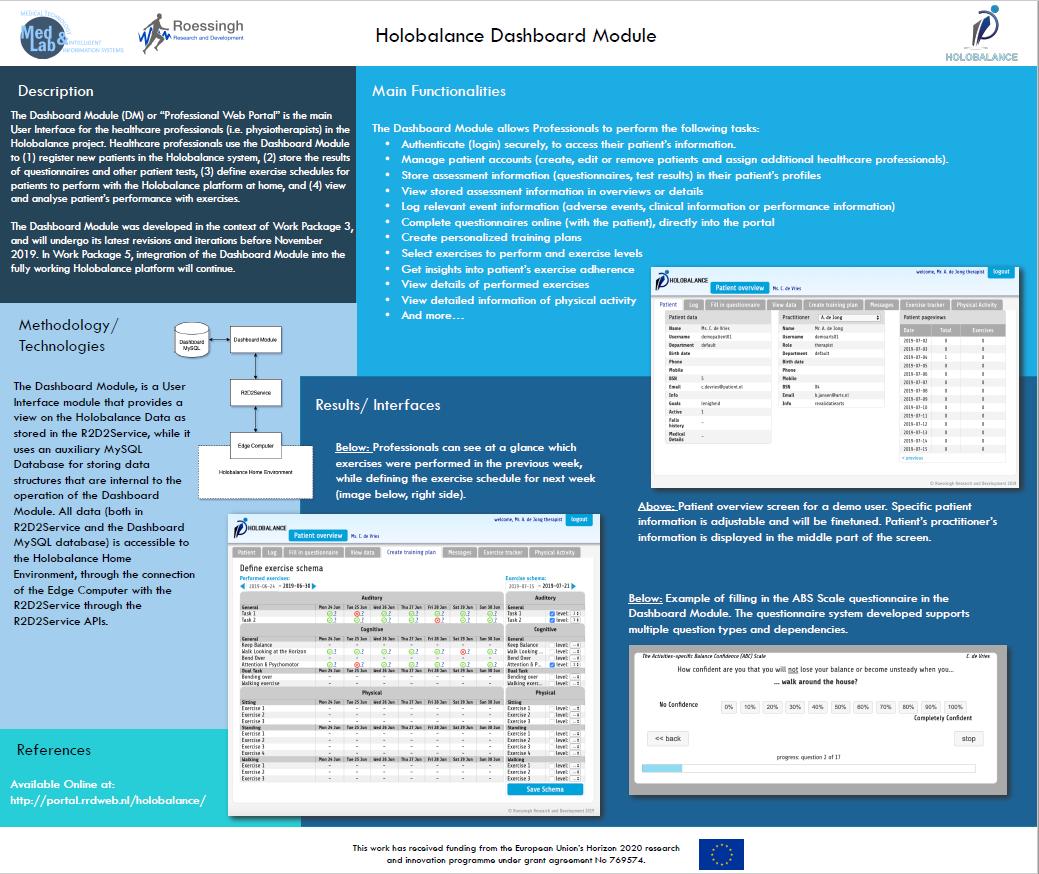 Holobalance Dashbord module