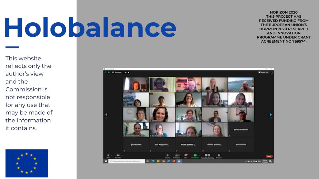 ocober EIPonAha partecipation of Holobalance project.