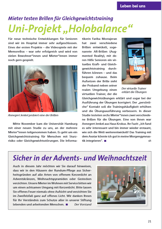 article in german language