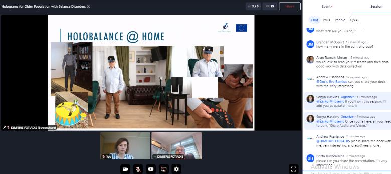 AR VR summit Holobalance
